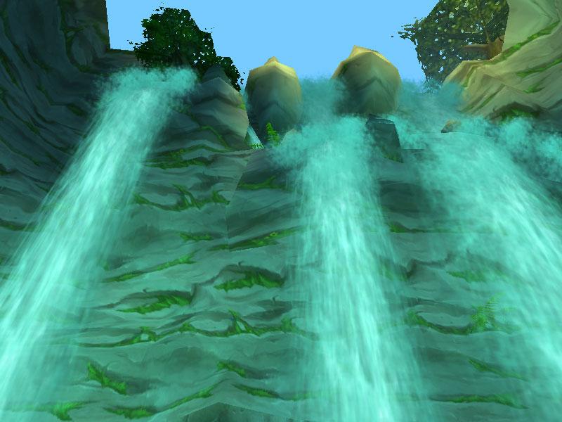 Wasserfall von Maraudon