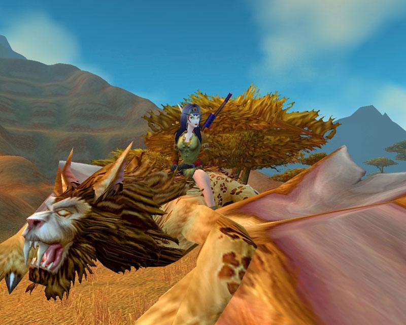 Elanora fliegt