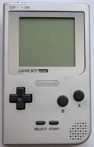 Der Gameboy Pocket.
