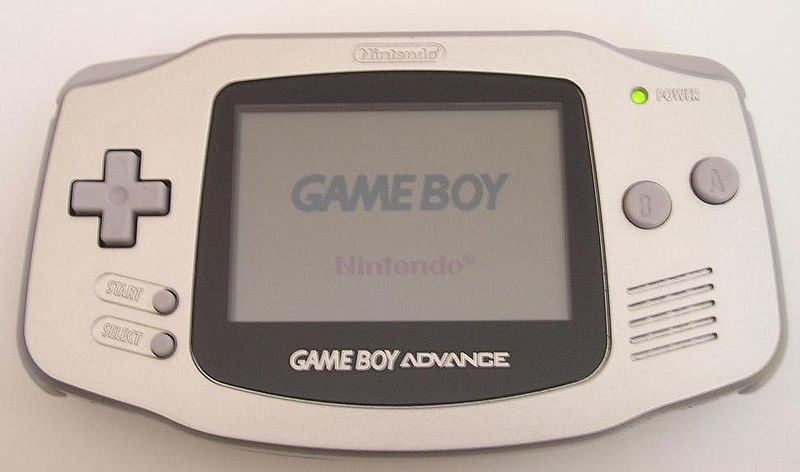 Der GameBoy Advance.