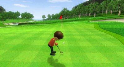 Beim Golfen muss der Spieler Präzession beweisen.