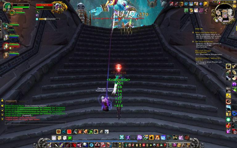 Drak'tharon: Boss Trollgrind