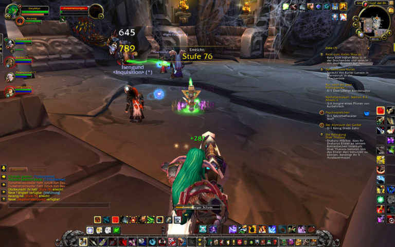 Level 76 in Drak'tharon