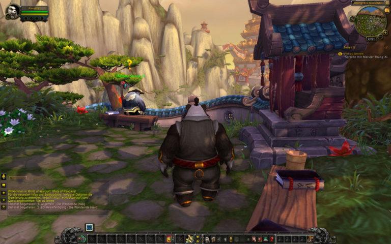 Pandaren Mönch