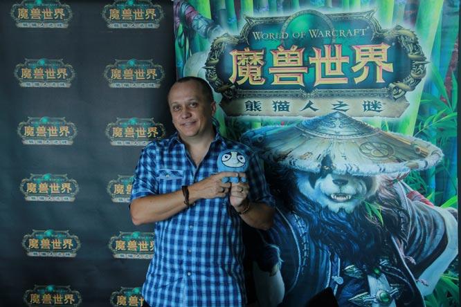 Greg Street auf der ChinaJoy 2013